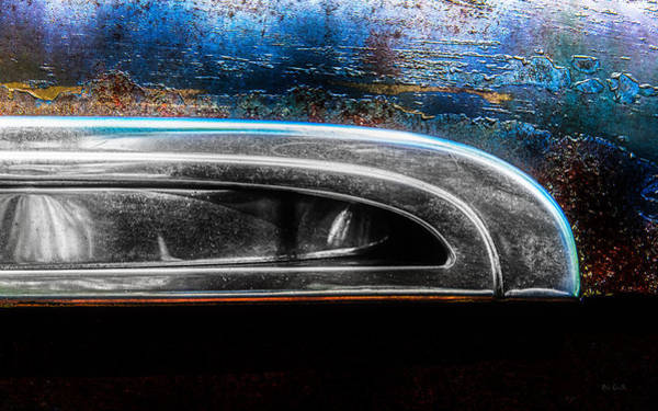 Comtemporary Photograph - Abstract Cars 1941 Special Deluxe Chrome by Bob Orsillo