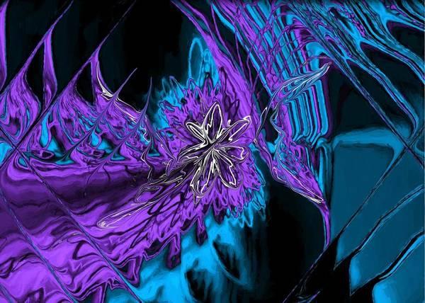 Digital Art - Abstract Visuals - Kinetic Boundary by Charmaine Zoe