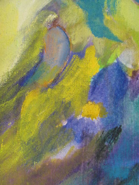 Painting - Abstract Close Up 2 by Anita Burgermeister