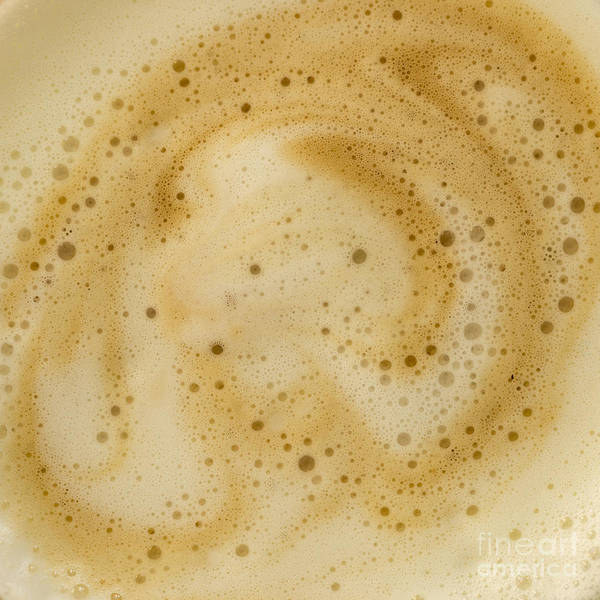Photograph - Abstract Coffee by Brian Roscorla