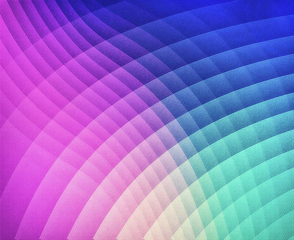 Wall Art - Digital Art - Abstract Colorful Art Pattern Ltbg Low Poly Texture Aka Spectrum Bomb Photoshop Colorpicker by Philipp Rietz