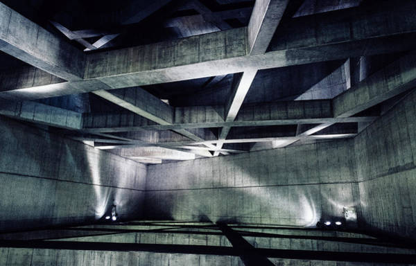 Photograph - Abstract Concrete Blocks by Alexandre Rotenberg