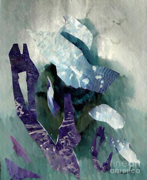Art Paper Mixed Media - Abstract Construction by Sarah Loft