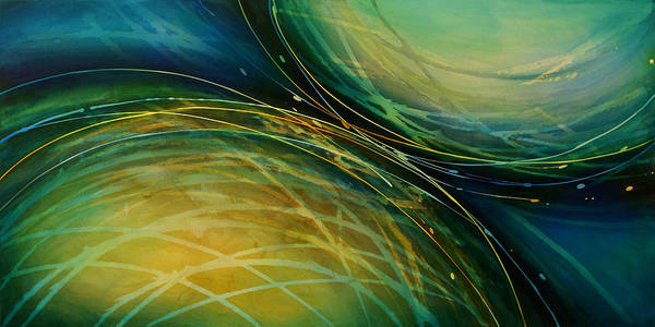 Wall Art - Painting - Abstract Design 51 by Michael Lang