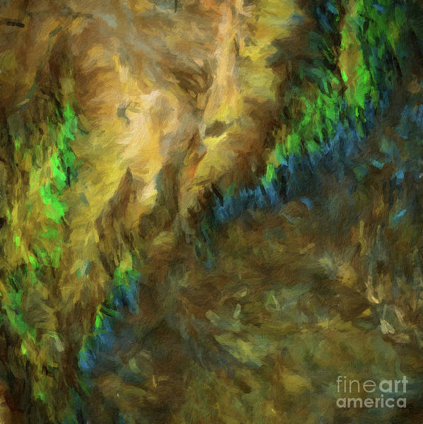 Color Burst Digital Art - Abstract Digital Oil Painting Full Of Texture And Bright Color8 by Amy Cicconi