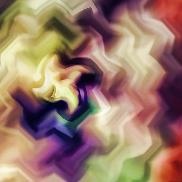 Jewels Digital Art - Abstract - Every Flower Is A Soul by Jon Woodhams