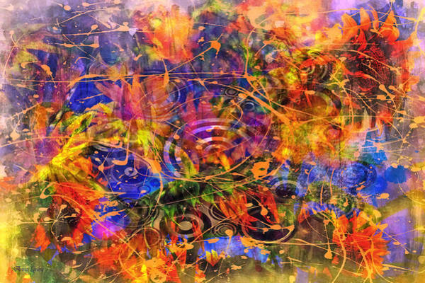 Digital Art - Abstract Expression One by Anna Louise