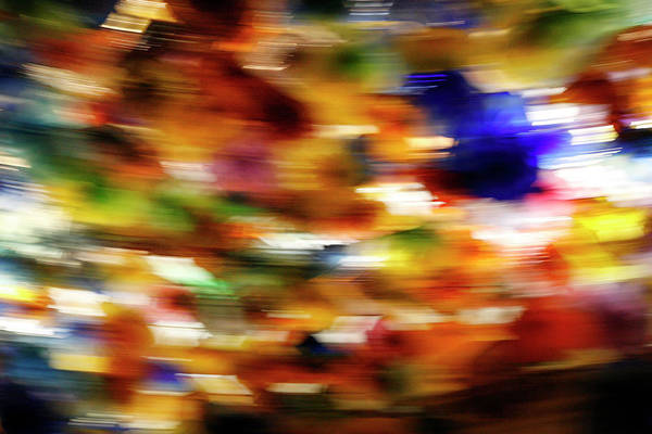 Photograph - Abstract Expressionis Art Glass by Marilyn Hunt