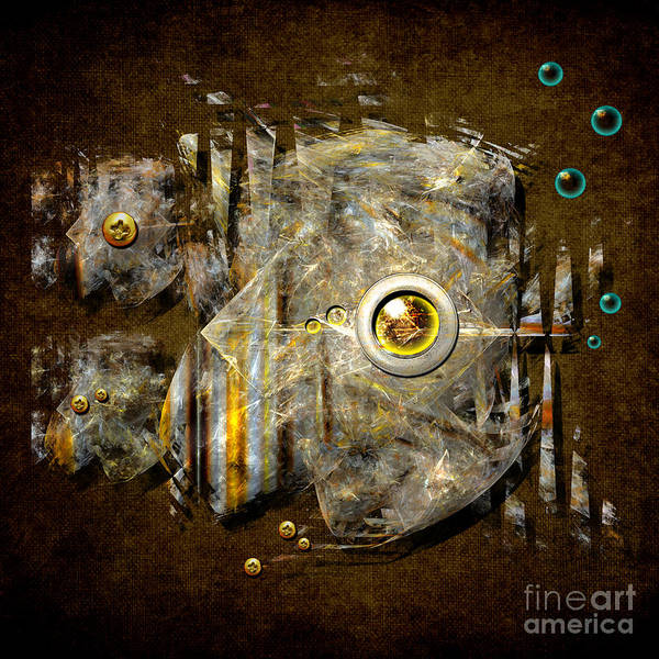 Abstract Fish Art Print