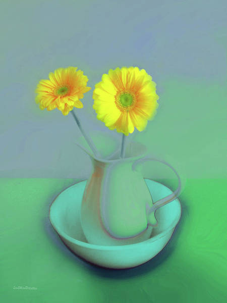 Digital Art - Abstract Floral Art 305 by Miss Pet Sitter
