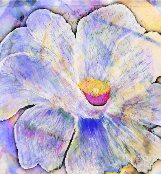 Painting - Abstract Floral Painting by Mas Art Studio