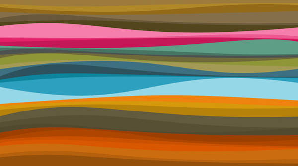 Digital Art - Abstract Flow by Val Arie