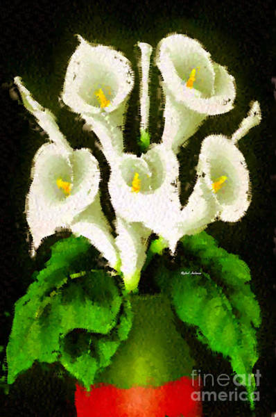 Digital Art - Abstract Flower 079 by Rafael Salazar