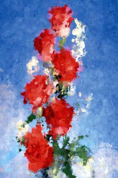 Digital Art - Abstract Flower 0792 by Rafael Salazar