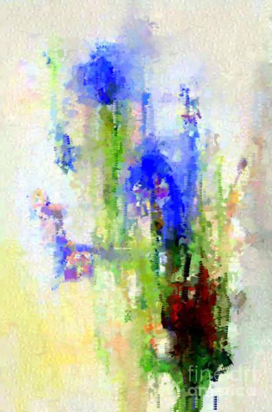 Digital Art - Abstract Flower 0797 by Rafael Salazar