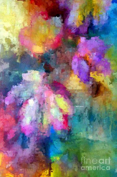 Digital Art - Abstract Flower 0800 by Rafael Salazar