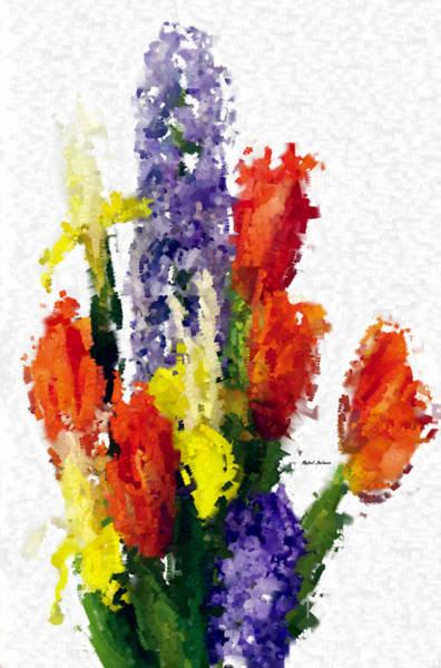 Digital Art - Abstract Flower 0801 by Rafael Salazar