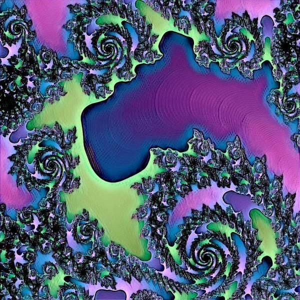 Digital Art - Abstract Fractal 122016.15 by Belinda Cox