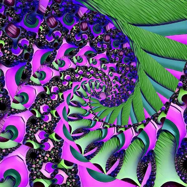 Digital Art - Abstract Fractal 122016.3 by Artful Oasis