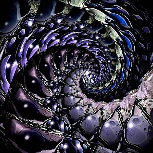 Digital Art - Abstract Fractal 16 by Artful Oasis