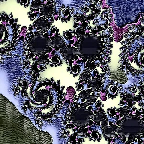 Digital Art - Abstract Fractal 17 by Belinda Cox