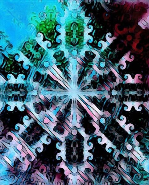 Digital Art - Abstract Fractal By Artful Oasis 2 by Artful Oasis