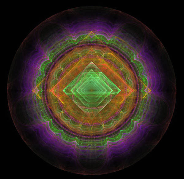 Phantasy Digital Art -  Abstract Fractal by Sergei Dolgov
