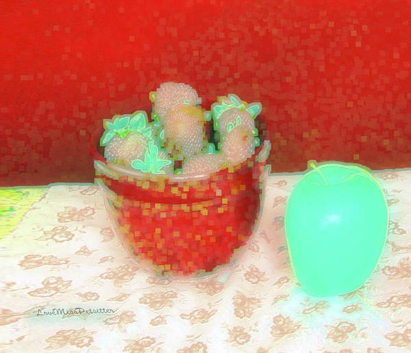 Digital Art - Abstract Fruit Art 70 by Miss Pet Sitter