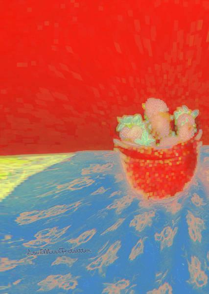 Digital Art - Abstract Fruit Art 72 by Miss Pet Sitter