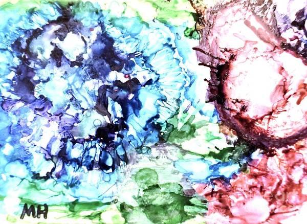 Wall Art - Painting - Abstract Garden by Marsha Heiken