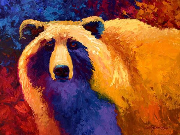 Abstract Grizz II Art Print
