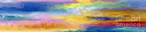 Digital Art - Abstract Horizon by Rafael Salazar