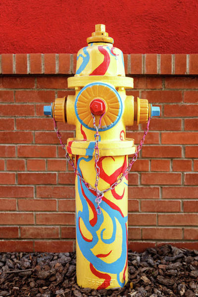 Photograph - Abstract Hydrant by James Eddy