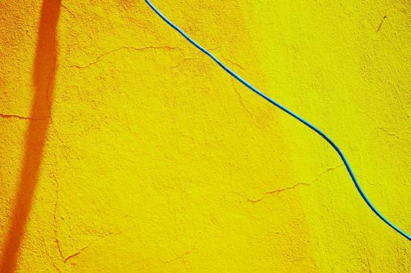 Photograph - Abstract Image In Yellow, Evoking The Dream And Bringing The Mind To Stimulate by Airo Zamoner