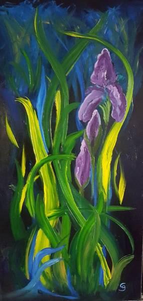 Painting - Abstract Iris         29 by Cheryl Nancy Ann Gordon