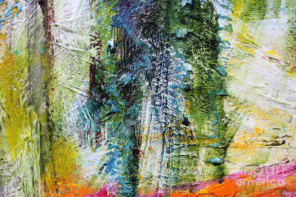 Sequoia Tree Painting - Abstract John Muir Number 1 by Ginette Callaway