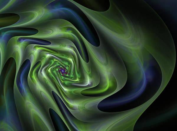 Digital Art - Abstract Labyrinth Fractal by Marina Usmanskaya
