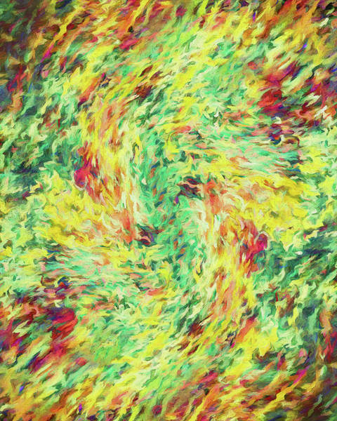 Jewels Digital Art - Abstract - Le Printemps by Jon Woodhams