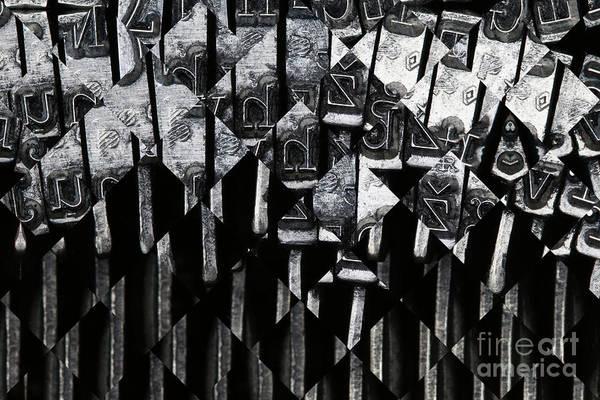Wall Art - Photograph - Abstract Matrix by Michal Boubin
