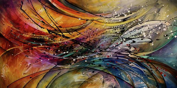 Wall Art - Painting - Abstract by Michael Lang