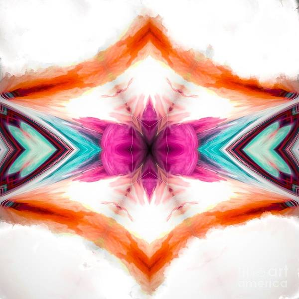 Digital Art - Abstract Mixed Digital Watercolor  by Sheila Wenzel