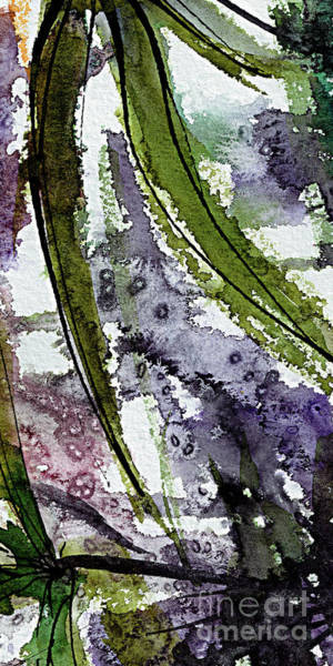 Painting - Abstract Modern Organic Watercolor And Ink 10 by Ginette Callaway