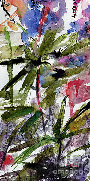 Painting - Abstract Modern Organic Watercolor And Ink 7 by Ginette Callaway