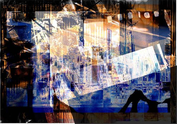 Abstract Movie Art Print