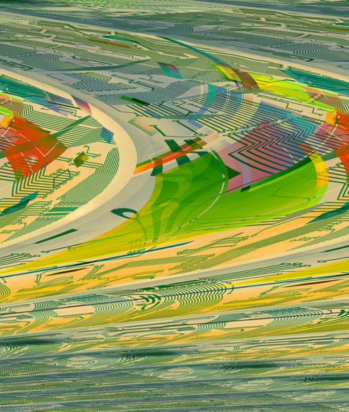 Digital Art - Abstract No 25 by Robert G Kernodle