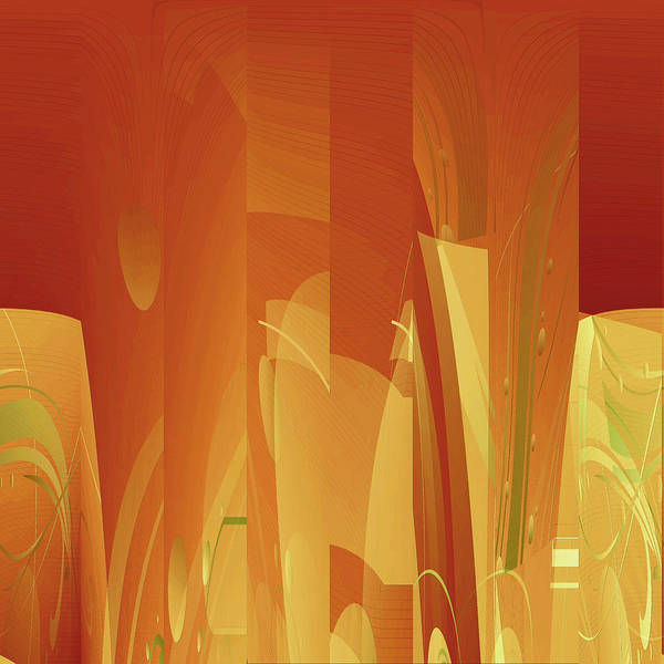 Digital Art - Abstract No 34 by Robert G Kernodle