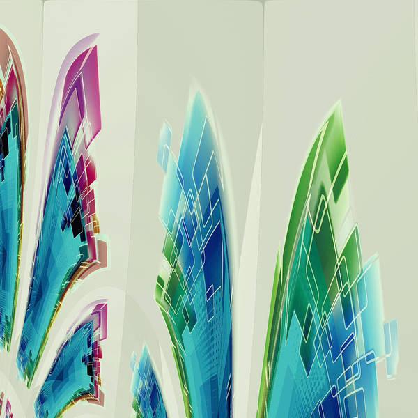 Digital Art - Abstract No 35 by Robert G Kernodle