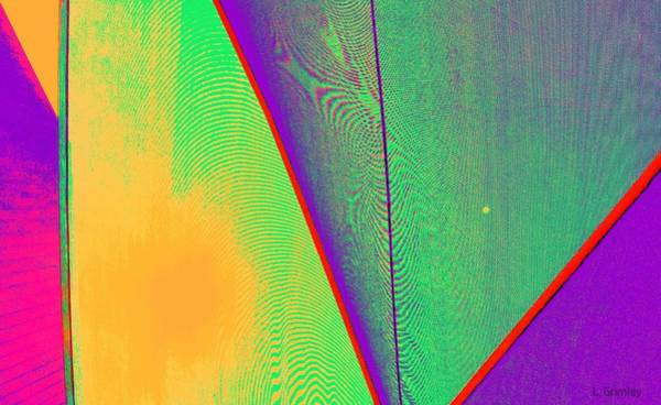 Wall Art - Digital Art - Abstract No. 9 by Lessandra Grimley