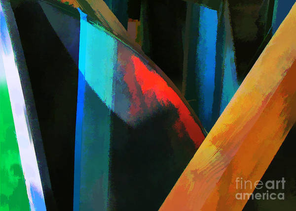 Abstract No. Twenty Four Art Print by Tom Griffithe
