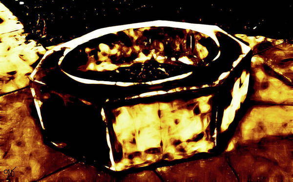 Photograph - Abstract Octagon by Gina O'Brien